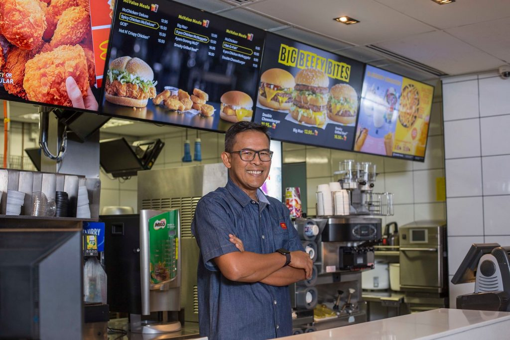 Profile Photo Of Azmir Jaafar,managing Director And Local Operating Partner Of Mcdonald's Malaysia